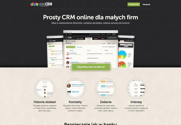 Strona główna #website #design #new #software