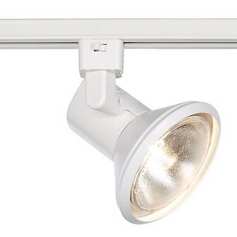WAC White Track Light Bullet for Juno Track Systems - #83409 | Lamps Plus $52 75watt