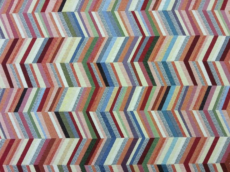 Herringbone Tapestry Multi Per Metre. Woven Tapestry Fabric, Suitable For  Curtains, Blinds, Light Upholstery, And A Variety Of Soft Furnishing  Projects.