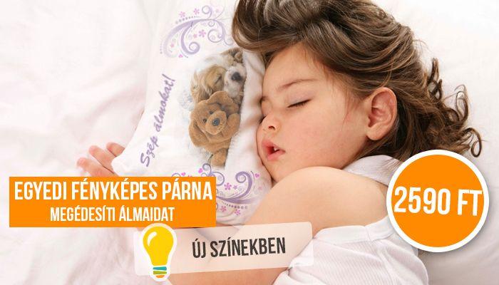 Pihe-puha Párna Kedvenc Fényképeddel  Akár plüss borítással is több színben!