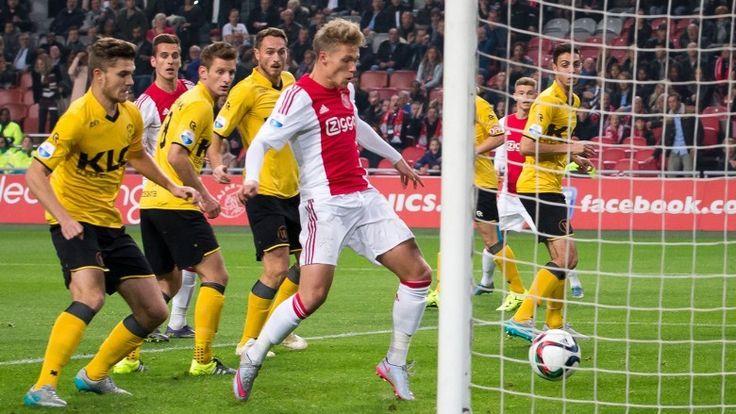 Viktor Fischer man of the match na winst op Roda (6-0) | rtvnh.nl