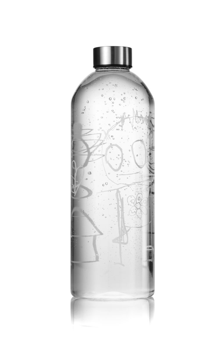 Poul Pava Water Bottle/Decanter 1.5l. Available from www.livin.co.za