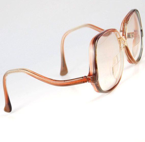 d81f5393455 Vintage 70s Oversize Eyeglass Sunglasses Pink by thenovelty ...