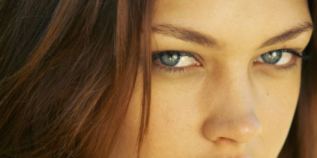 Grüne Augen - ich wusste, dass ich eine Rarität bin ;-D:-D