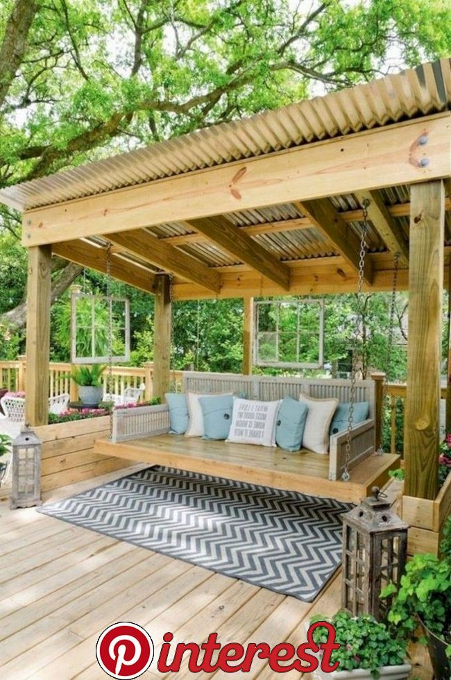 30 Best Small Backyard Patio Ideas From Entertaining Spaces To Cooking Stations To Areas Designed For L Backyard Gazebo Backyard Pergola Small Backyard Patio