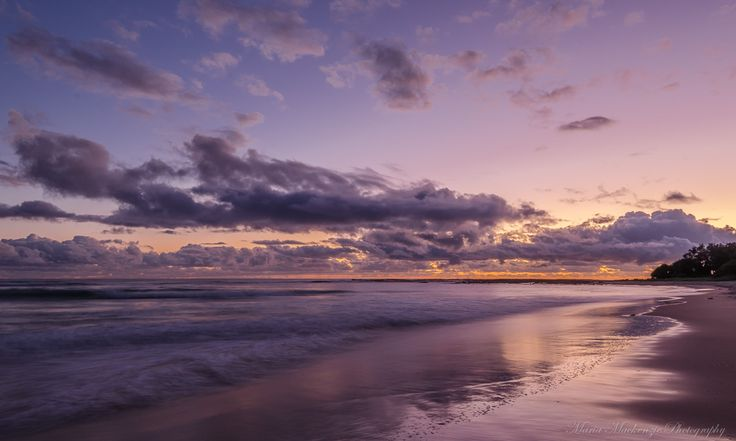 My favourite time of the day sunrise with no one around me. I was wanting to achieve a mirrored effect as waves past without getting wet. Loved every minute of it :)