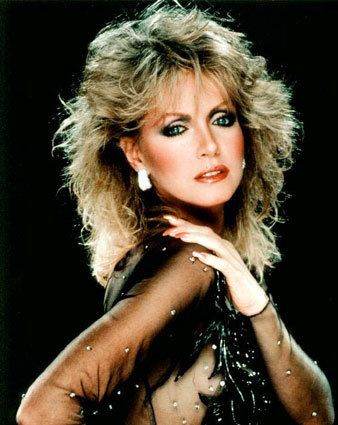 Abby from KNOTS LANDING.  She was the prettiest in my opinion.