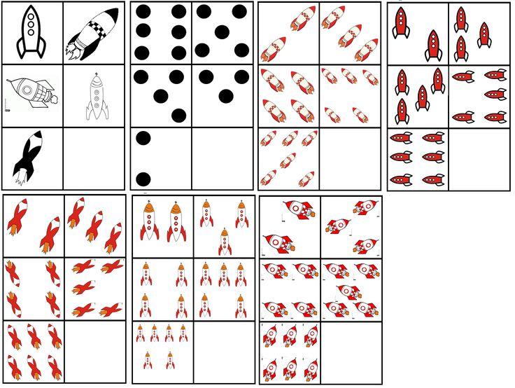 matrix de ruimte: raketten tellen