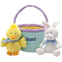 Personalized My First Easter Basket, Set of 3