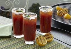 DRY Bloody Mary Rimming Spice Mix you can rim Bloody Mary glasses with the dry rub OR use is as a dry rub on flank steaks for grilling.