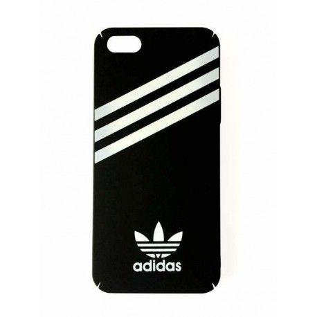 Coque-Adidas-couleur-noir-plastique-iPhone 5, 5s, SE