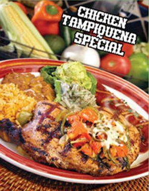 Chicken Tampiquena Special - at Fresco's in Burleson