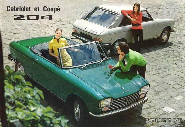 Peugeot 204 Coupé et Cabriolet