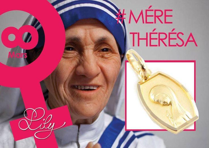 Depuis plus de 40 ans, la vie de Mère Thérèsa fut consacrée aux pauvres, malades, laissés pour compte et aux mourants. Elle a reçu plusieurs récompenses pour son travail, notamment le Prix de la Paix du Pape Jean XXIII en 1971. Elle a reçu également le Prix Nobel de la Paix en 1979 pour son action en faveur des déshérités en Inde. Elle a utilisé sa notoriété mondiale pour attirer l'attention du monde sur des questions morales et sociales importantes. #femme #8mars #paix #amour #aide…