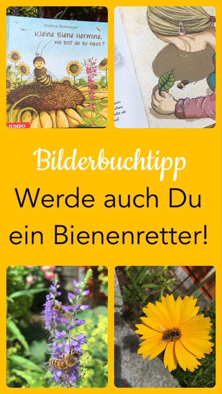 """""""Kleine Biene Hermine, wo bist du zu Haus?"""" oder Werde auch du ein Bienenretter! – Kinderbuchblog Familienbuecherei"""