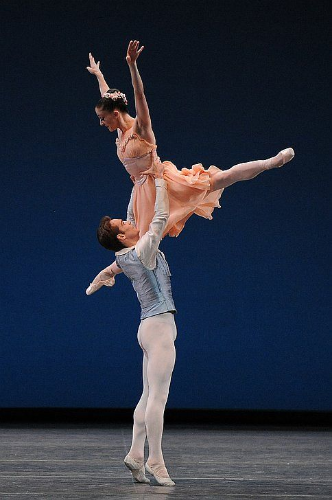 "Gonzalo Garcia and Ashley Bouder perform in ""Tchaikovsky Pas De Deux"". This ballet will be a part of The Ashley Bouder Project, debuting in Cleveland, October 25, 2014."