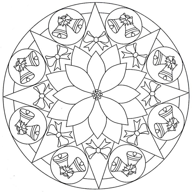 square mandala coloring pages - Google Search
