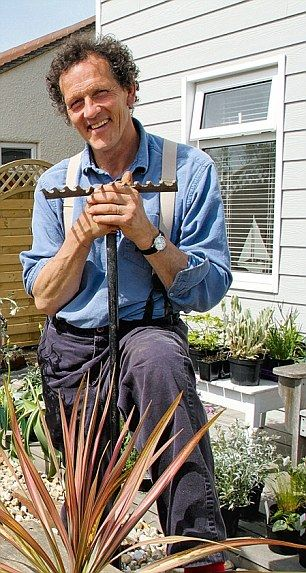 Monty Don, who says that it is possible to have a lavish garden no matter what its size - well thank goodness!
