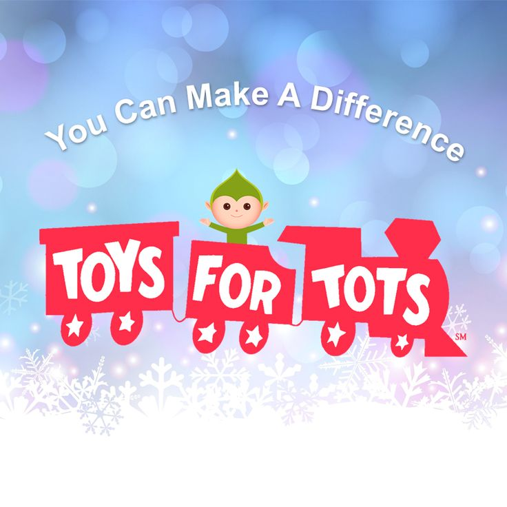 Donate an unwrapped toy to Toys for Tots this Christmas!