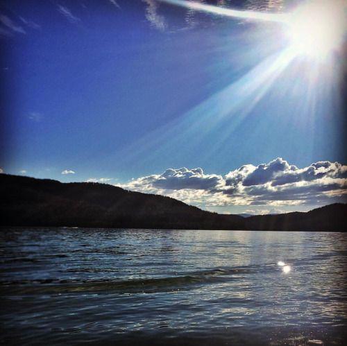 Whitefish Lake, Montana.