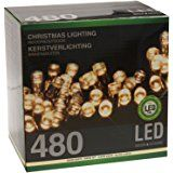 Led Lichterkette 320 Leds warmweiß für innen und außen Strombetrieb: Amazon.de: Küche & Haushalt