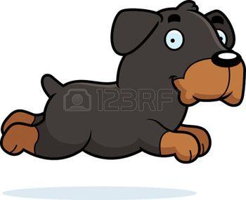 psi%3A+A+cartoon+illustration+of+a+Rottweiler+running.