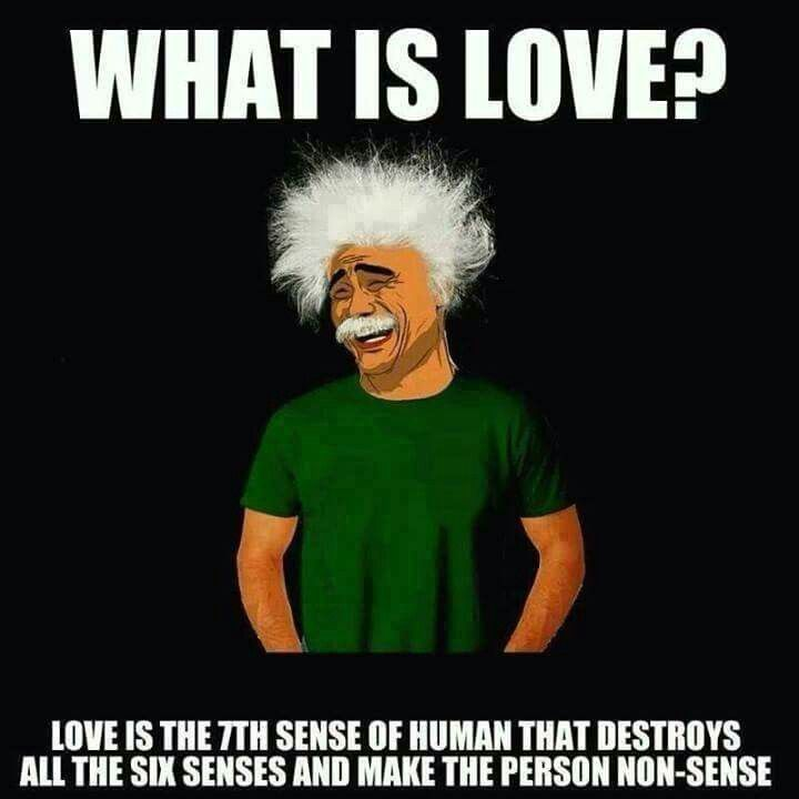 What is love? Haha!