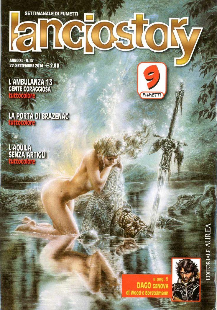 Fumetti EDITORIALE AUREA, Collana LANCIOSTORY ANNO 40 - 201437
