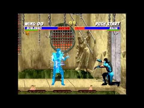 Mortal  Kombat  Trilogy Klassic Sub-Zero