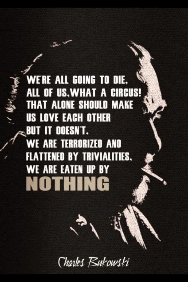 Charles Bukowski!
