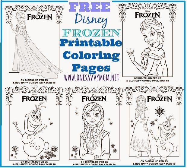 hm coloring pages frozen printable - photo#43