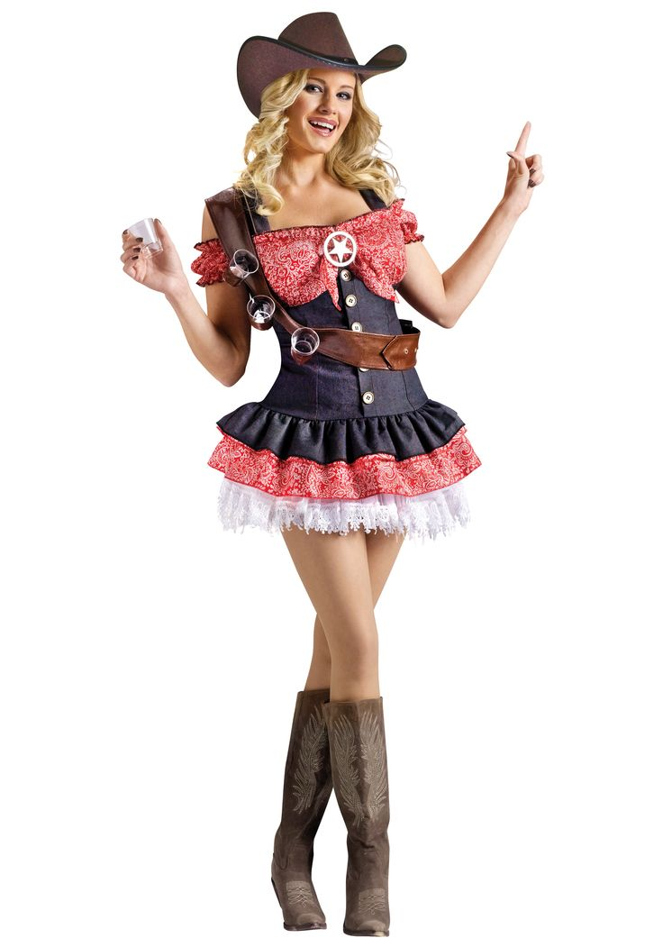 Sexy Shotgun Sheriff Costume. I want to be this!!!