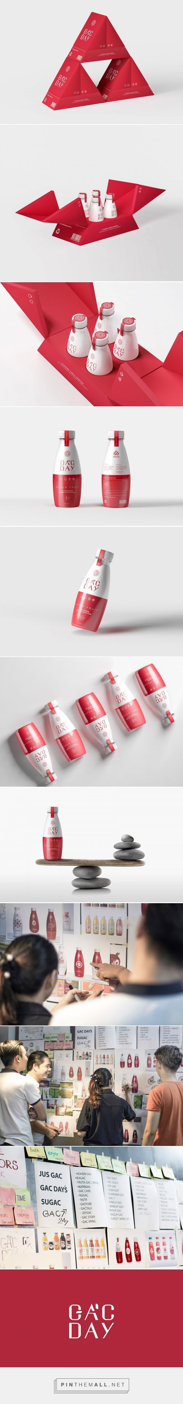 Gac Day nutrition drink packaging design by Bratus Agency - https://www.packagingoftheworld.com/2018/03/gac-day.html