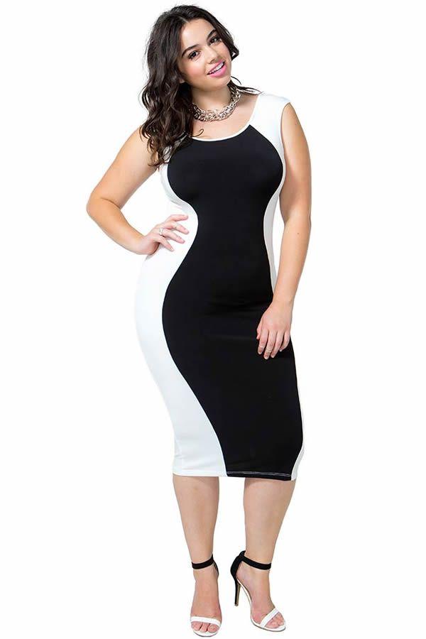 moda estilo y distincin para gorditas elegantes vestidos de fiesta cortos tallas especiales