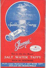James' Original Salt Water Taffy