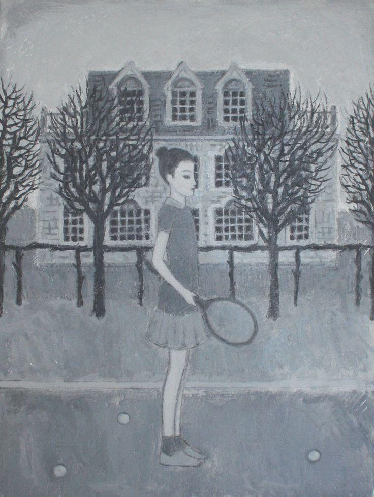 Marco Demis, 2010, Senza titolo, Olio su tela, Cm 40 x 30 x 4.