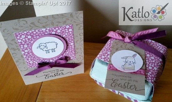 Cute Easter cards made with Stampin' Up! products including mini egg carton. Sweet Sugarplum.