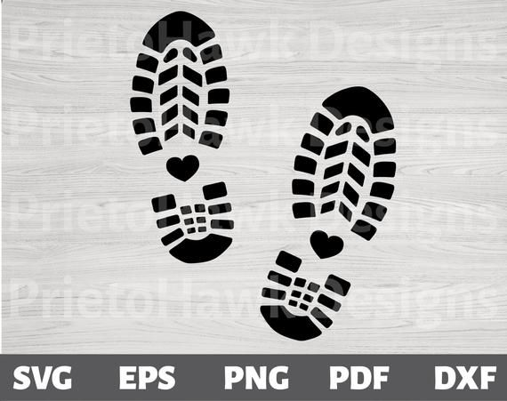 Hiking Boot Print Svg Hiking Love Adventure Vector Etsy In 2021 Coloring Book Pages Boot Print Paper Cards