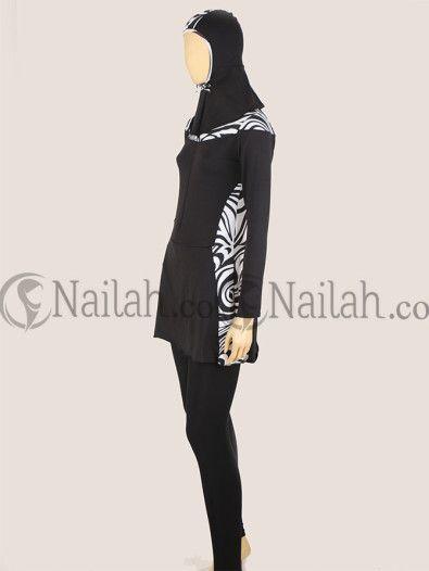 Baju Renang Muslim Elfira Rp 189,000 - www.nailah.co