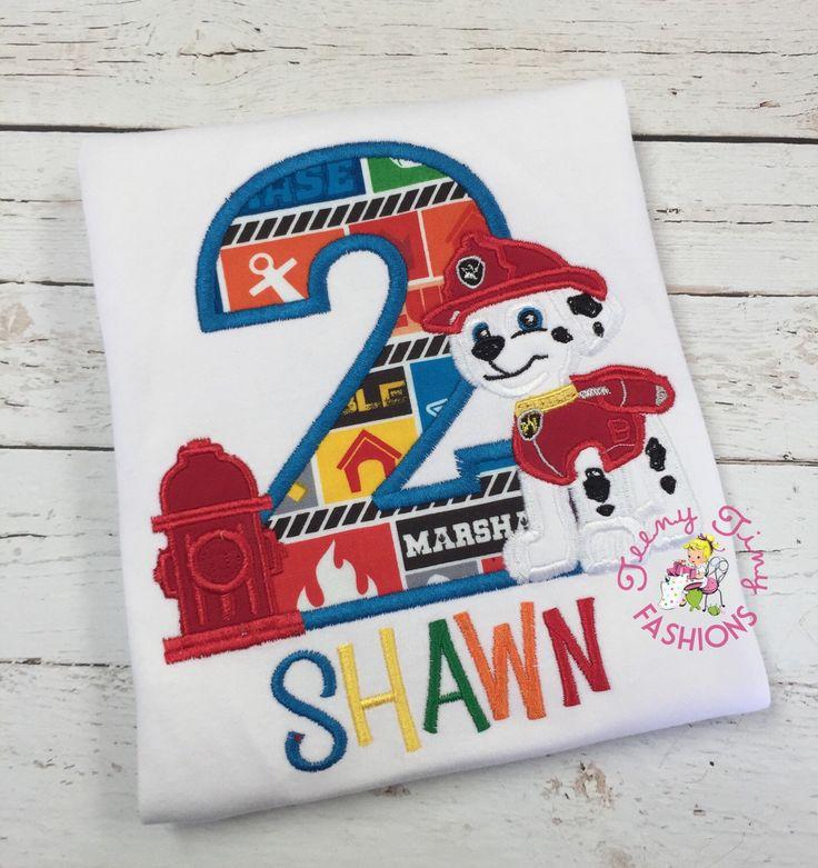Paw Patrol Birthday Shirt 2nd