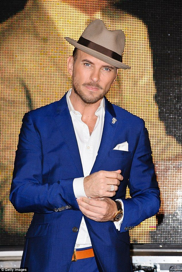 Pin-up: Former Bros singer Matt Goss will be hoping to boost his career in the UK by appearing on the show