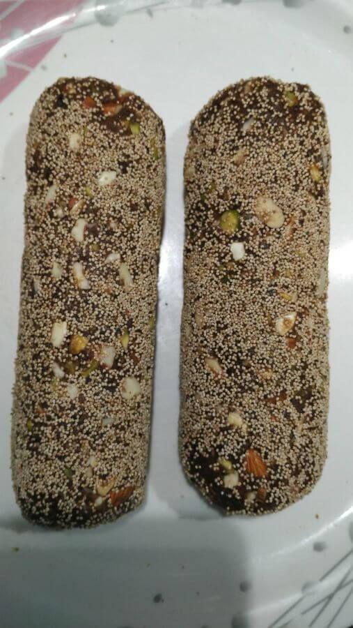 Khajur Burfi Recipe | Khajur Rolls | Dates and Nuts Rolls