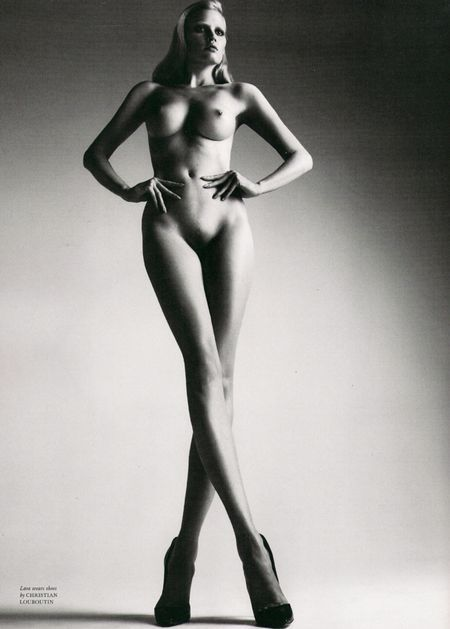 "LOVE MAGAZINE: Lara Stone & Daria Werbowy Nude in ""Body Conscience"" by Mert & Marcus"