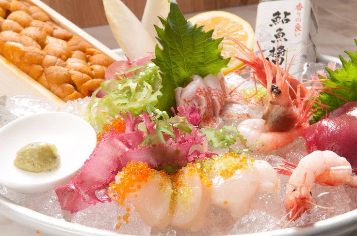 Fresh fish of the day (sashimi)