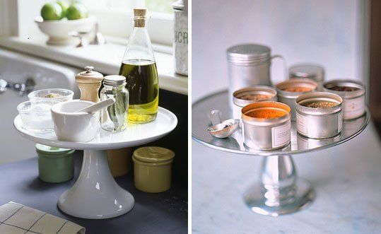By Your Side: Keep Cooking Essentials Close With a Cake Stand