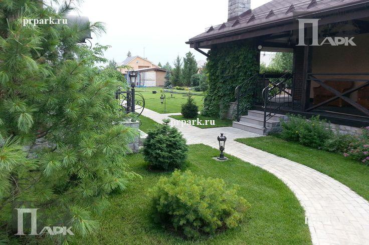 частные сады Подмосковья, фото | Природный Парк Дизайн ...