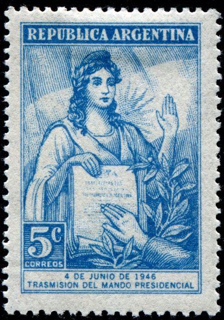 Trsmisión del Mando Presidencial (1946) Argentina