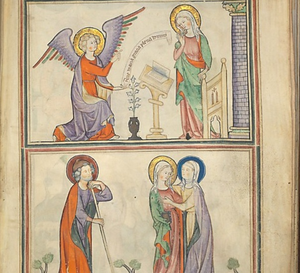 Manuscript of the Apocalypse  1330, Normandy France