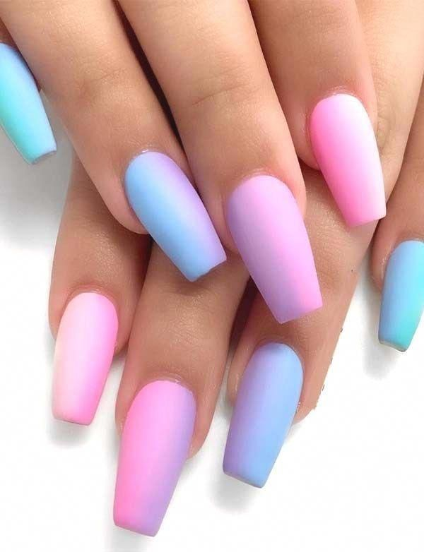 Attractive Nail Ideas Light Up The Summer Passion #