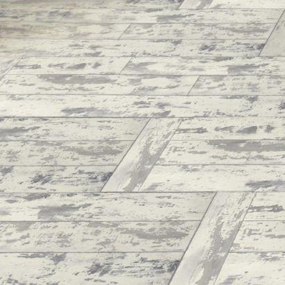 Colours Leggiero White Distressed Oak Effect Laminate Flooring 1.72m² per pack, 5397007014983